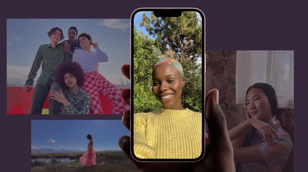 Camera trước 12 MP - iPhone 13 128GB
