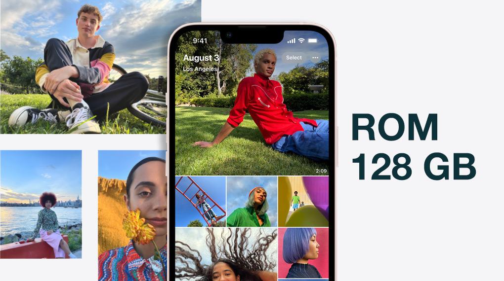 Dung lượng bộ nhớ - iPhone 13 128GB