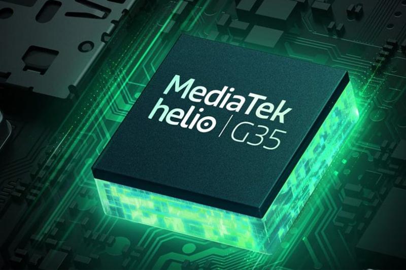 Hiệu năng mạnh mẽ với bộ vi xử lý MediaTek Helio G35 | Redmi 9C