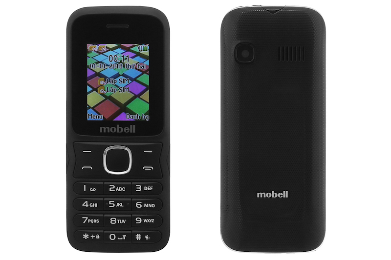 Điện thoại nghe gọi Mobell M218 | Tổng thiết kế