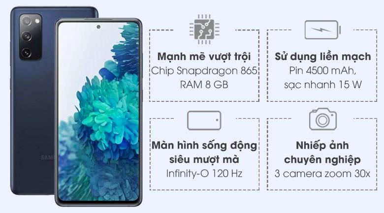 Samsung Galaxy S20 Fan Edition   Trả góp 0%, giảm 1.5 triệu