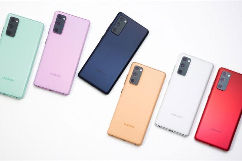 Thiết bị sở hữu với loạt các gam màu trẻ trung, cá tính - Samsung Galaxy S20 FE