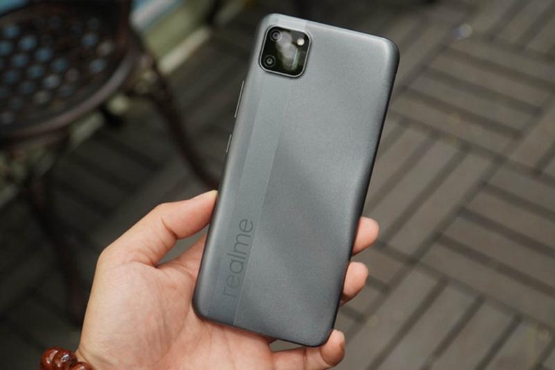 Điện thoại Realme C11 | Màu xám hạt tiêu