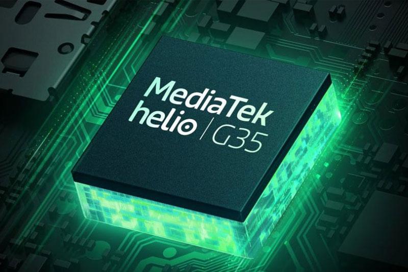Điện thoại Realme C11 | Trang bị bộ vi xử lý MediaTek Helio G35