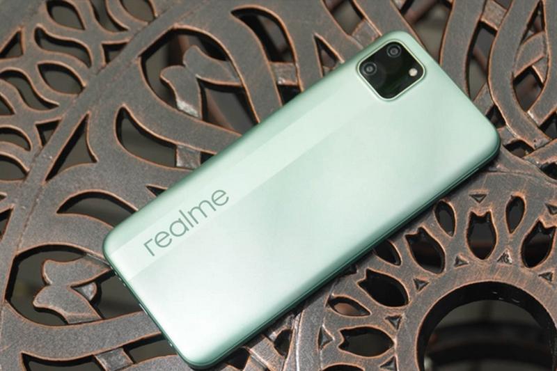 Điện thoại Realme C11 | Màu xanh bạc hà