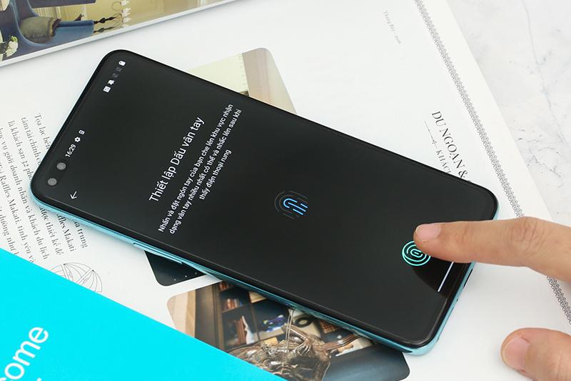 Điện thoại OnePlus Nord 5G có cảm biến vân tay