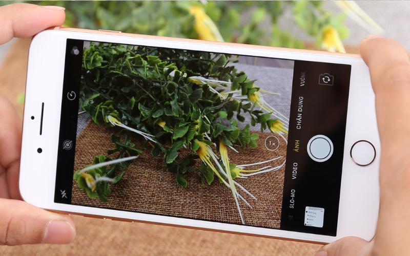 Chụp hình và quay phim đỉnh cao - iPhone 8 Plus 128GB