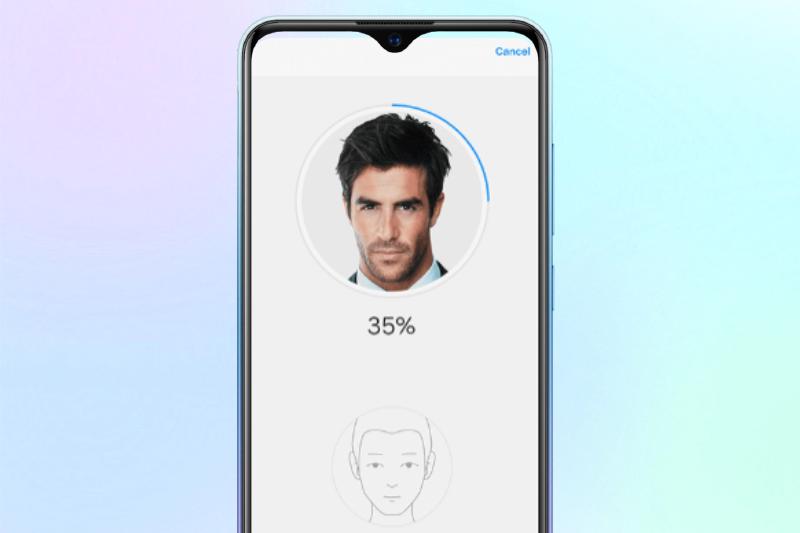 Hỗ trợ mở khoá bằng khuôn mặt - Vivo Y1s