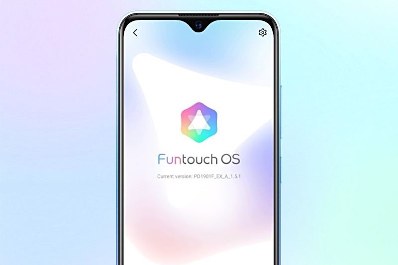 Chạy giao diện Funtouch OS - Vivo Y1s