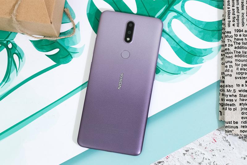 Thiết kế mặt lưng | Nokia 2.4