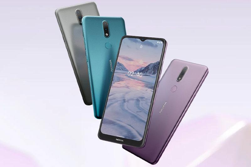 Điện thoại Nokia 2.4 | Nhiều màu sắc cho khách hàng lựa chọn