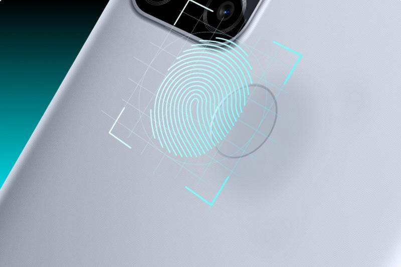 Realme C15 | Cảm biến vân tay mặt lưng