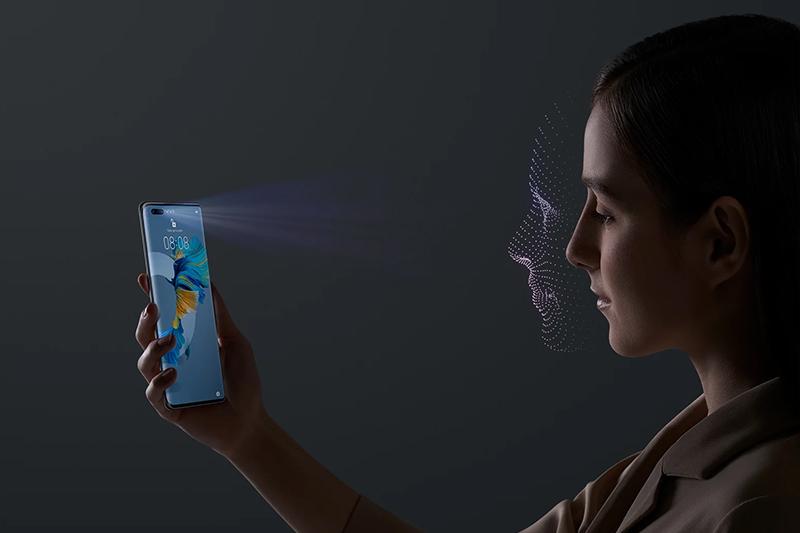 Huawei Mate 40 Pro | Bảo mật vân tay và khuôn mặt