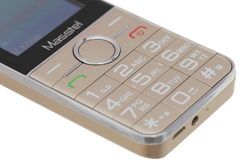 Máy được trang bị cổng sạc USB - Masstel IZI 230
