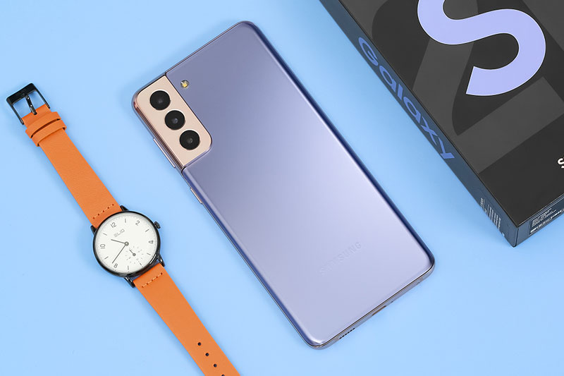 Điện thoại Samsung Galaxy S21+ 5G | Thiết kế mặt lưng