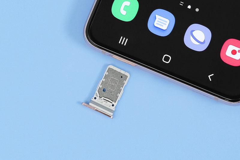 Điện thoại Samsung Galaxy S21+ 5G | Khay sim