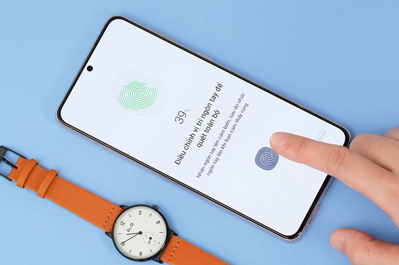 Điện thoại Samsung Galaxy S21+ 5G | Cảm biến vân tay