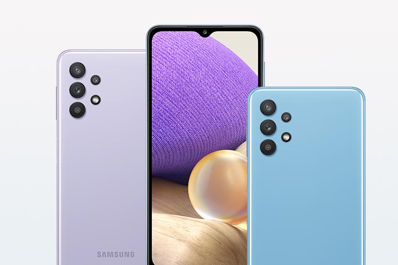 Samsung Galaxy A32 5G | Thiết kế mặt lưng bóng bẩy, thời thượng