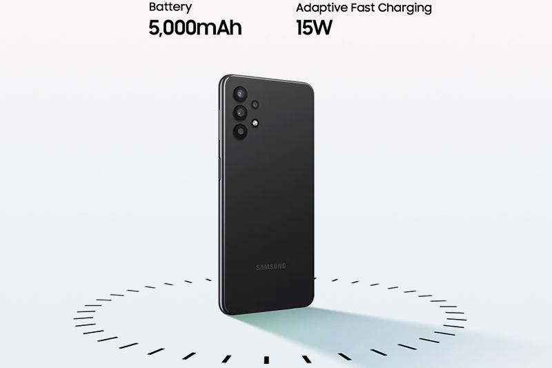 Samsung Galaxy A32 5G | Dung lượng pin khủng lên đến 5000 mAh