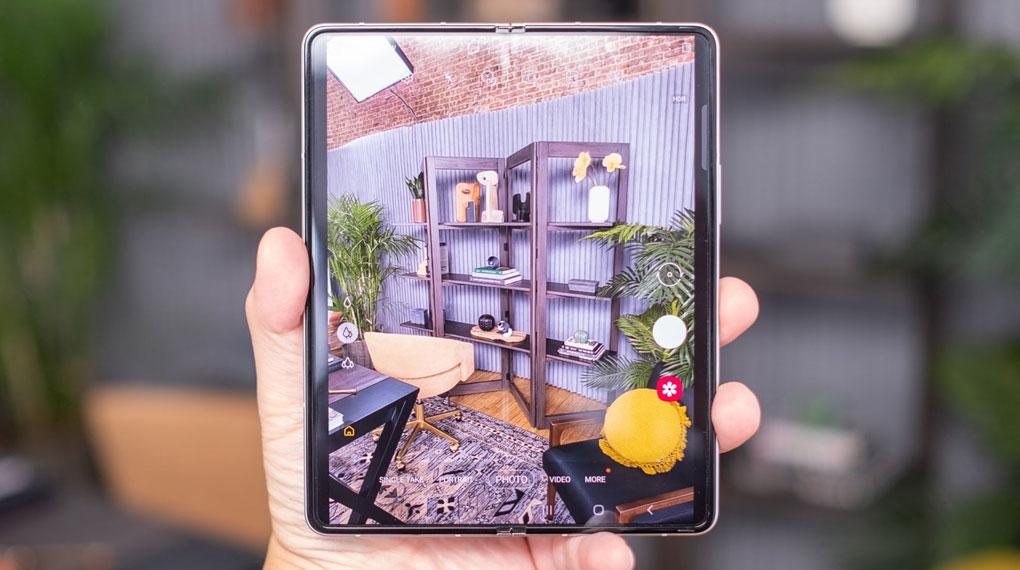 Samsung Galaxy Z Fold3 5G   Giao diện camera