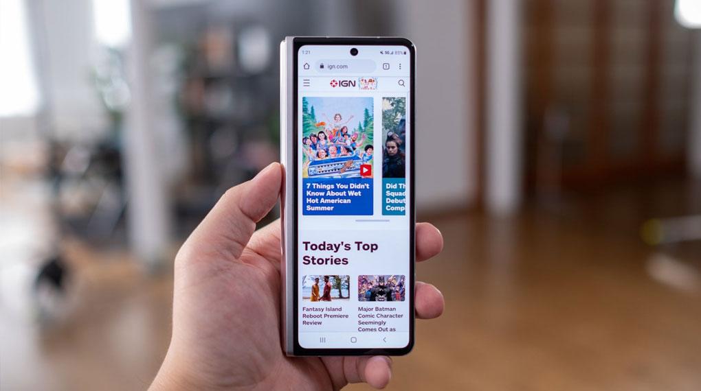 Samsung Galaxy Z Fold3 5G   Hiệu năng mượt mà ở cả 2 màn hình