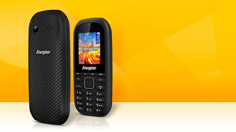 Thiết kế điện thoại Energizer
