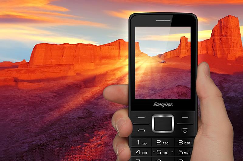 Điện thoại Energizer P20 | Thiết kế đơn giản, dễ dàng sử dụng