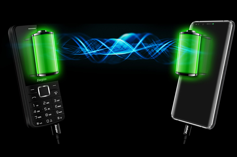 Điện thoại Energizer P20 | Tính năng sạc cho thiết bị khác