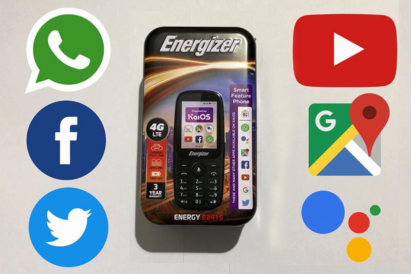 Energizer E241S   Kho ứng dụng đầy đủ các app cơ bản