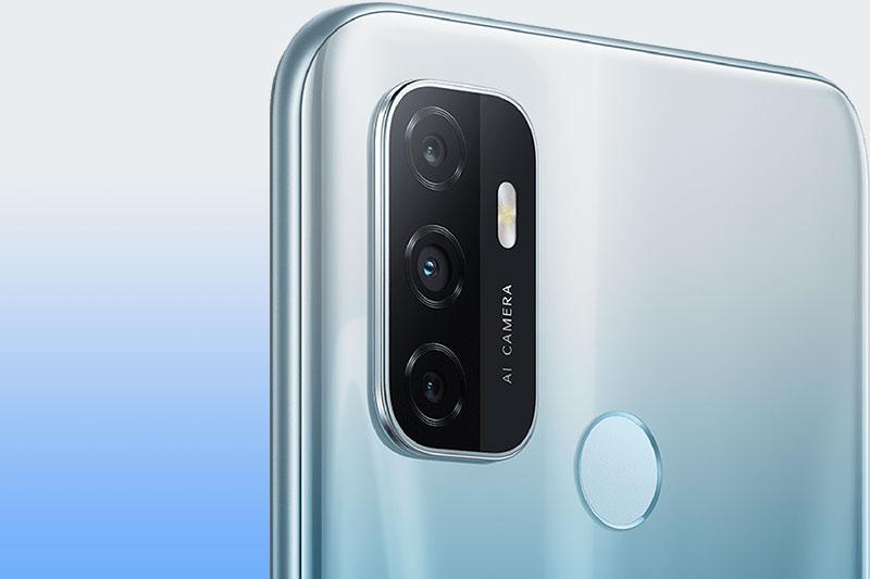 Cụm 3 camera đa tính năng chụp - OPPO A53 (2020)