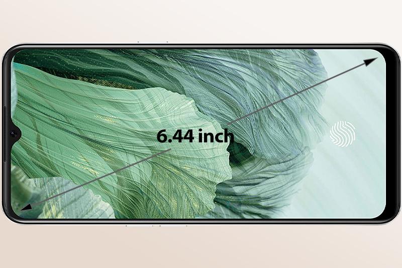 Màn hình AMOLED siêu tràn viền rộng 6.44 inch   OPPO A73