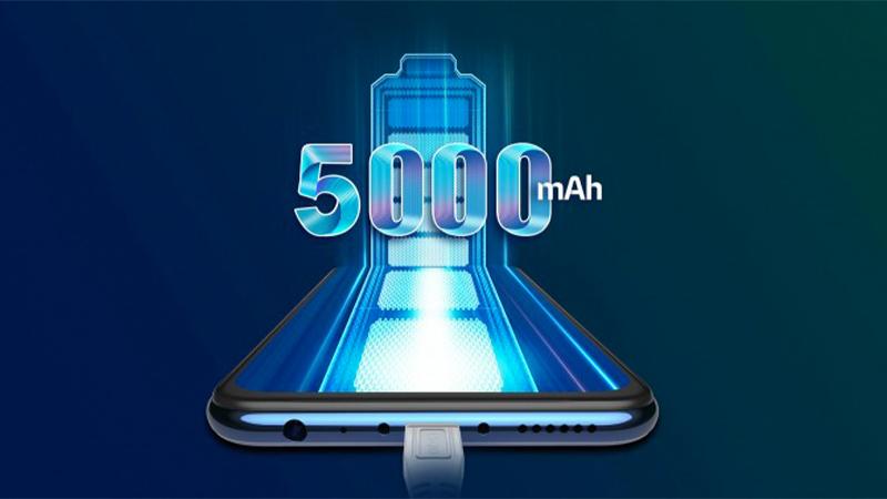 Dung lượng pin lên đến 5000 mAh | Vivo Y20