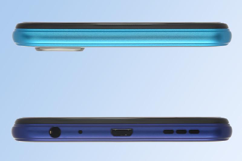 Các cạnh của màn hình được làm cong nổi 2.5D | Vivo Y20