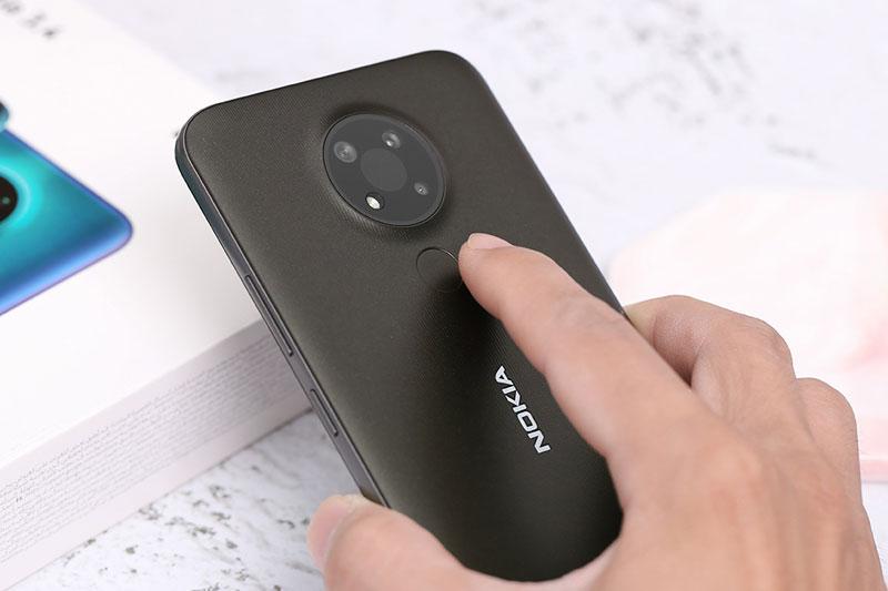 Cảm biến vân tay ở mặt lưng | Nokia 3.4