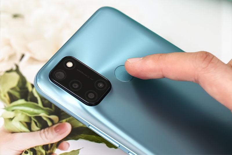 Realme C17 | Chạy nền Android 10 tăng cường bảo mật, mở khóa vân tay