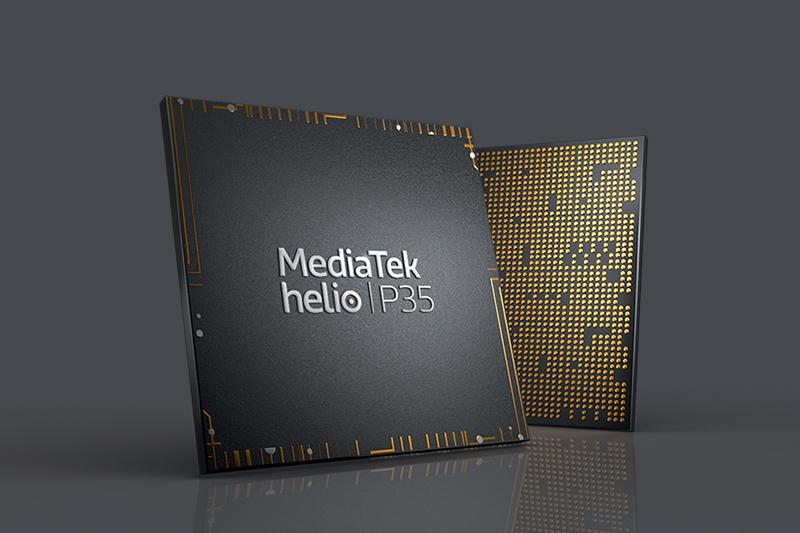 Samsung Galaxy A12 | Chip MediaTek Helio P35 8 nhân chiến game mượt mà