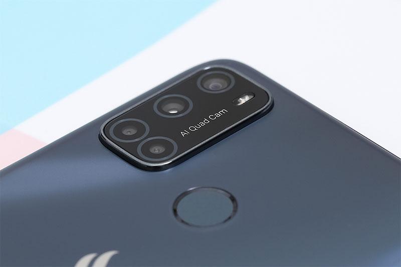 Cụm 4 camera trong model chữ L theo xu hướng - Vsmart Joy 4