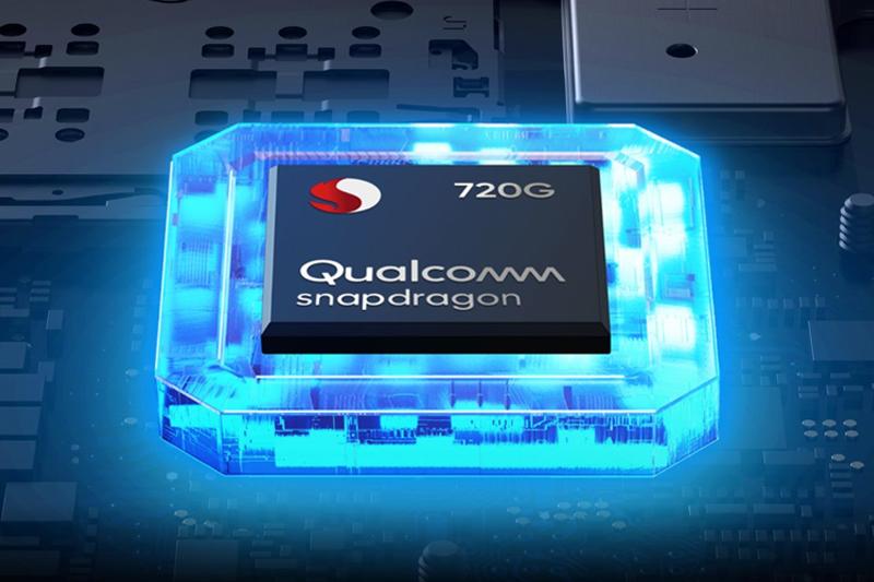 Chipset Snapdragon 720G cho hiệu năng mạnh mẽ | Vivo V20