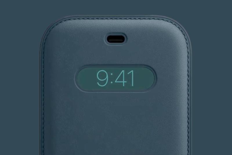 Bao da ôm trọn thân máy thành đồng hồ điện tử | iPhone 12