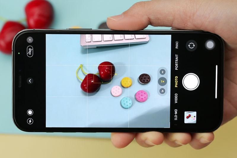 Giao diện chụp ảnh | iPhone 12 Pro