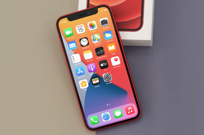 iPhone 12 Mini 128 GB | Màn hình OLED với công nghệ Super Retina XDR cao cấp