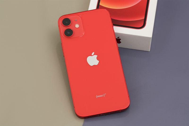 iPhone 12 Mini 128 GB | Mặt lưng được thiết kế với lớp kính sáng bóng