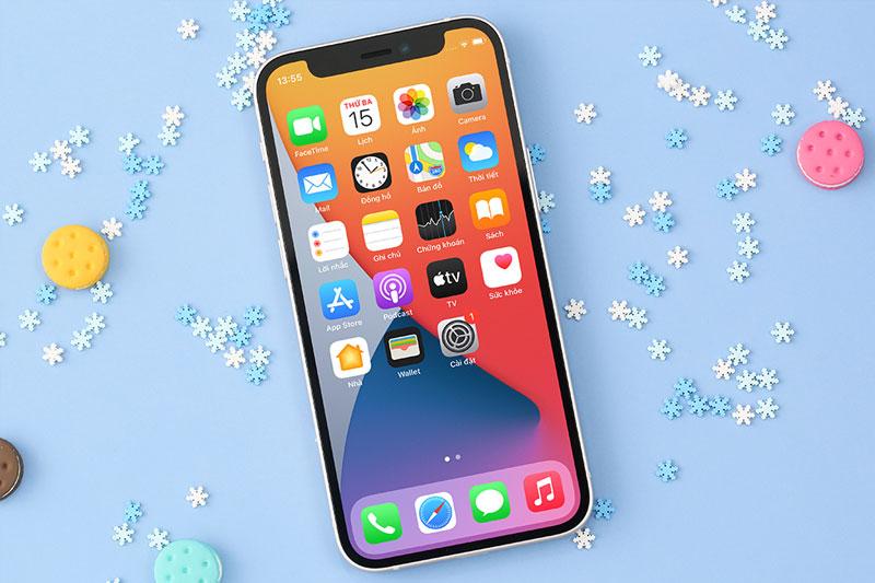 iPhone 12 Mini 256 GB | Trang bị kính cường lực Ceramic Shield thế hệ mới