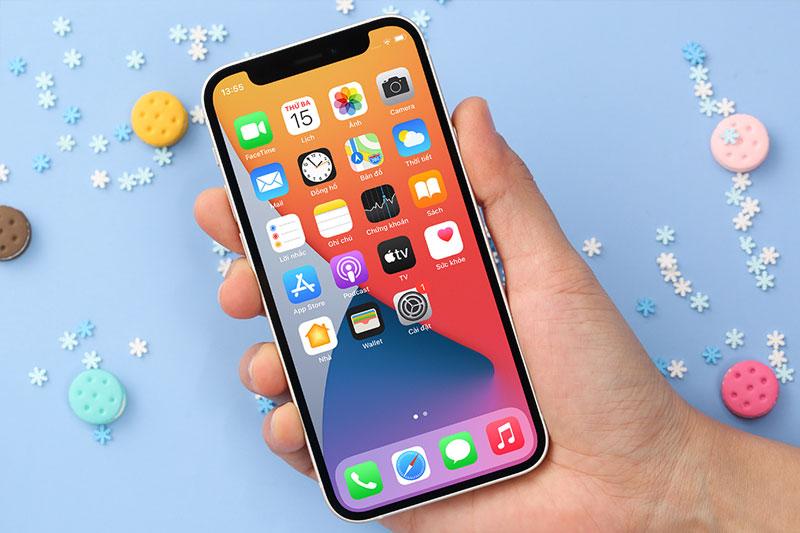 iPhone 12 Mini 256 GB | Màn hình kích thước 5.4 inch độ phân giải Full HD+