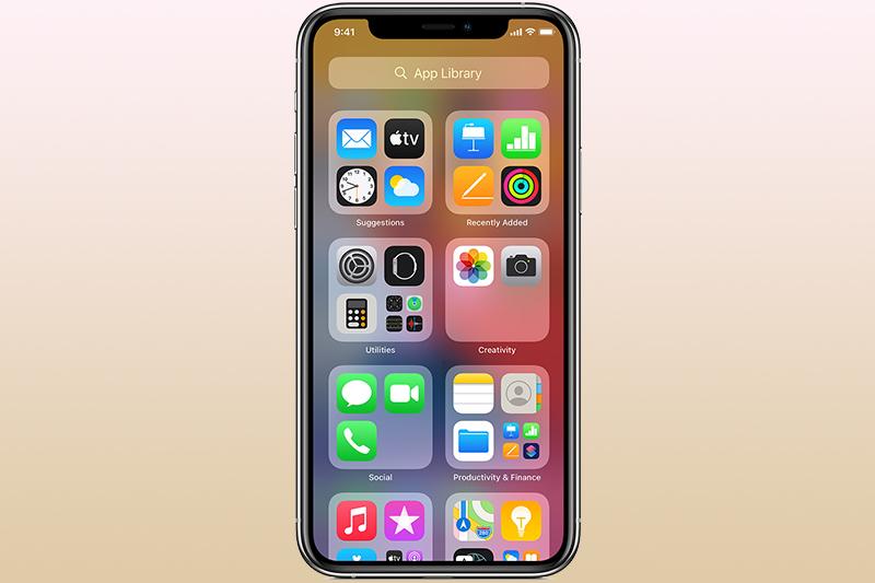 Tính năng App Library | iPhone 12 Pro Max