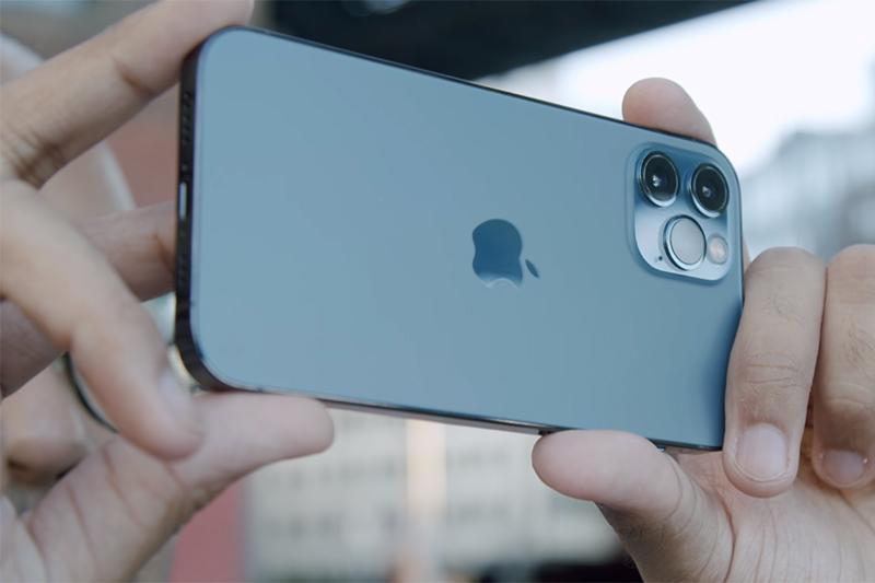 Cụm camera chụp ảnh sắc nét, chi tiết | iPhone 12 Pro Max