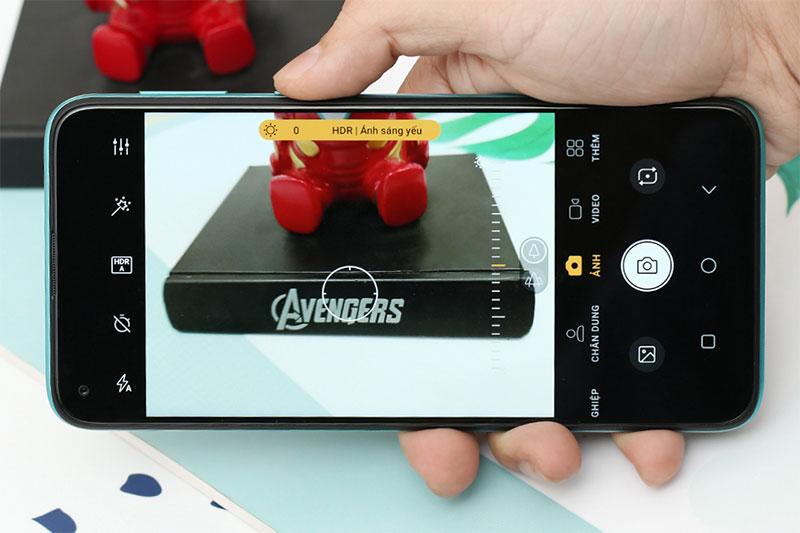Camera phụ hỗ trợ nhiều tính năng chụp - Vsmart Joy 4 (4GB/64GB)