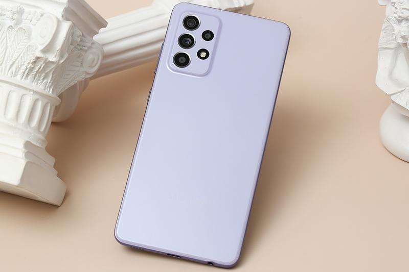 Samsung Galaxy A52 | Thiết kế mặt lưng