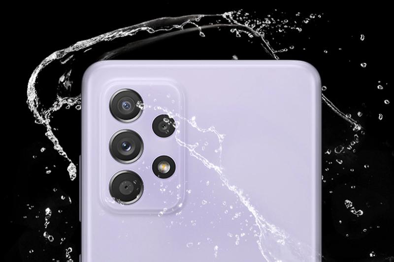 Samsung Galaxy A52 | Hỗ trợ chuẩn kháng nước IP67