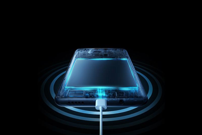 Hỗ trợ công nghệ sạc nhanh Mi Fast Charge 33W | Xiaomi Mi 10T Lite